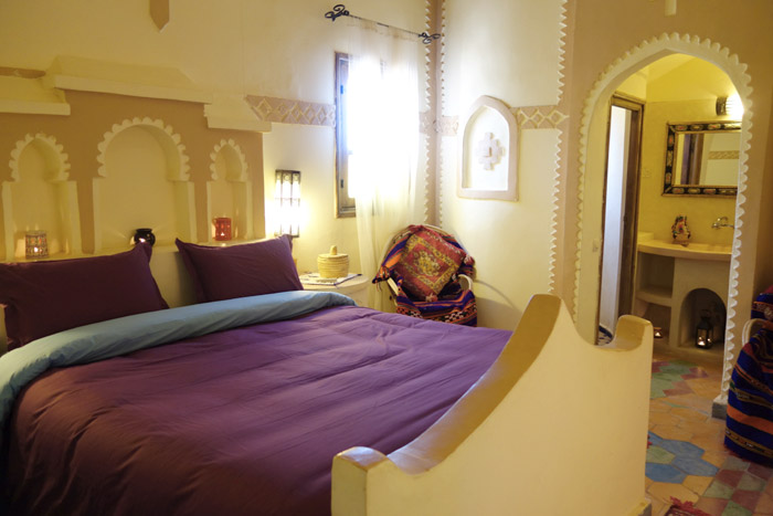 Double room at Desert Hotel Auberge Cafe du Sud