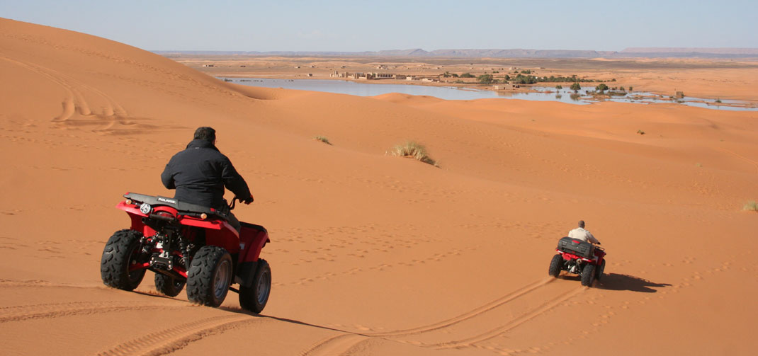 Moto Quad / ATV tours in the dunes