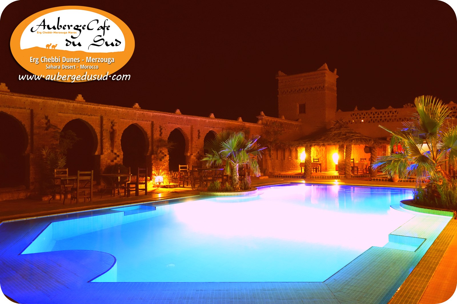 🐪 Swimming Pool By Night
