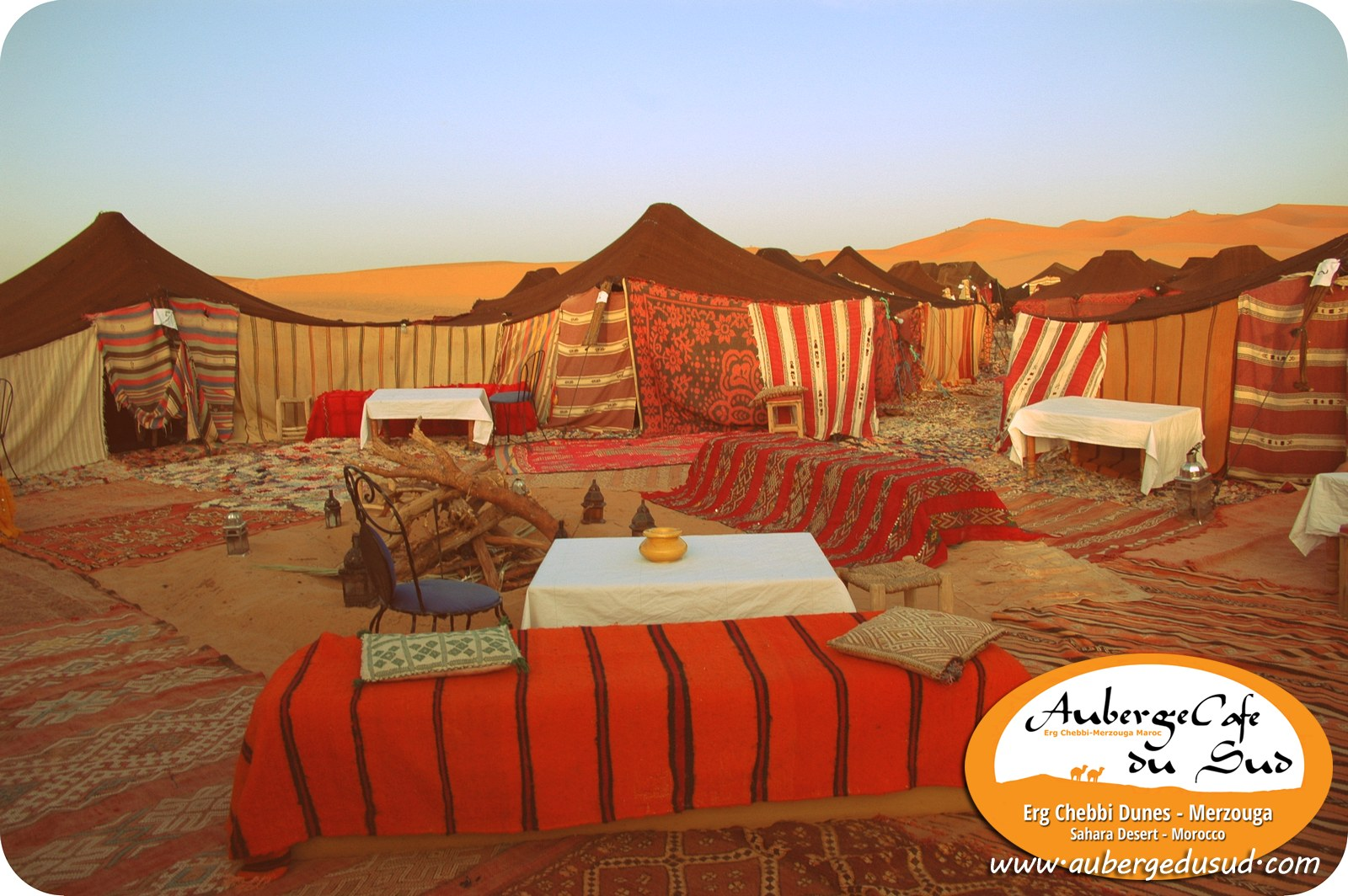 🐪 Exotic Sahara Desert Camp With Tents